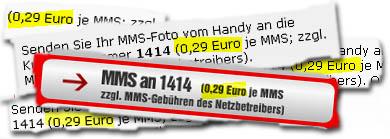"überall ""0,29 Euro"""