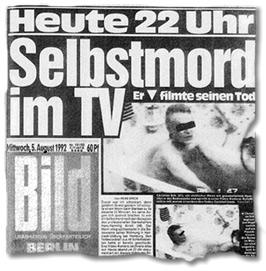 Heute 22 Uhr: Selbstmord im TV