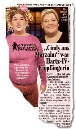 """""""Cindy aus Marzahn"""" war Hartz-VI-Empfängerin"""
