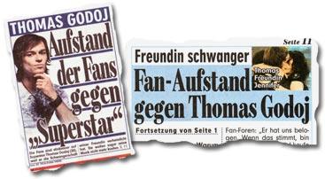 """""""Thomas Godoj: Aufstand der Fans gegen"""
