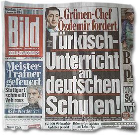 """Grünen-Chef Özdemir fordert: Türkisch-Unterricht an deutschen Schulen!"""