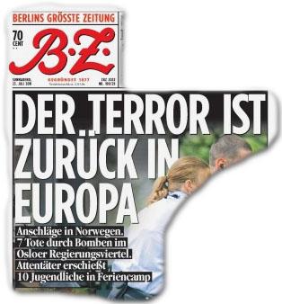 Der Terror ist zurück in Europa