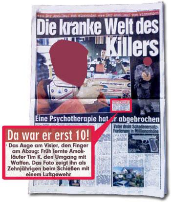 """""""Die kranke Welt des Killers"""""""