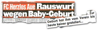 """""""Zur Geburt hat ihm vom Verein bis heute keiner gratuliert..."""""""