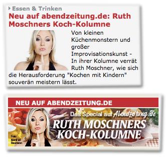Neu auf abendzeitung.de: Ruth Moschners Koch-Kolumne