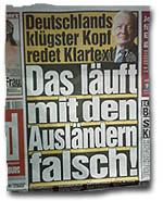 """""""Deutschlands klügster Kopf redet Klartext - Das läuft mit den Ausländern falsch"""""""