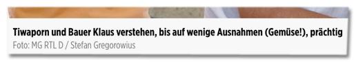 Screenshot Bildunterschrift Bild.de - Tiwaporn und Bauer Klaus verstehen, bis auf wenige Ausnahmen (Gemüse!), prächtig