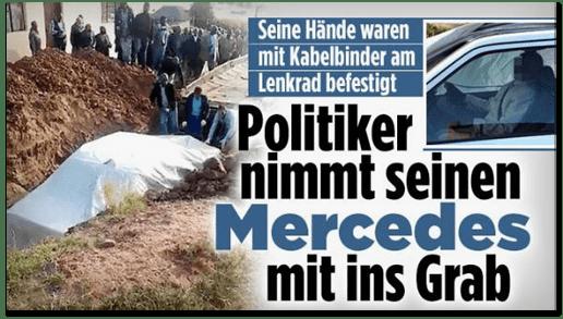 Screenshot Bild.de - Seine Hände waren mit Kabelbinder am Lenkrad befestigt - Politiker nimmt Mercedes mit ins Grab