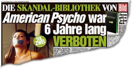 """American Psycho"" war  6 Jahre lang verboten"