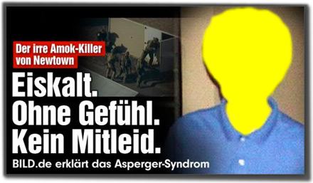 Der irre Amok-Killer von Newtown: Eiskalt. Ohne Gefühl. Kein Mitleid. BILD.de erklärt das Asperger-Syndrom.