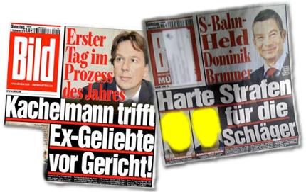 Erster Tag im Prozess des Jahres: Kachelmann trifft Ex-Geliebte vor Gericht! S-Bahn-Held Dominik Brummer: Harte Strafen für die Schläger