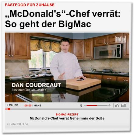 Fastfood für zuhause: McDonald