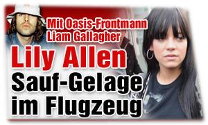 Liam Gallagher und Lily Allen bei Bild.de