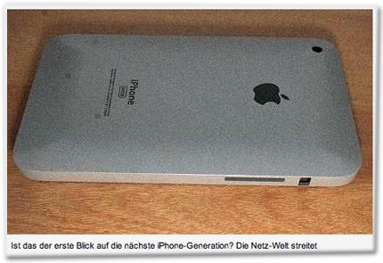 Ist das der erste Blick auf die nächste iPhone-Generation? Die Netz-Welt streitet
