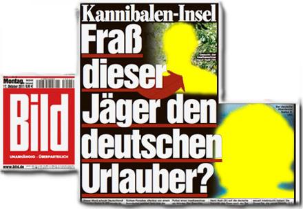 Kannibalen-Insel: Fraß dieser Jäger den deutschen Urlauber?