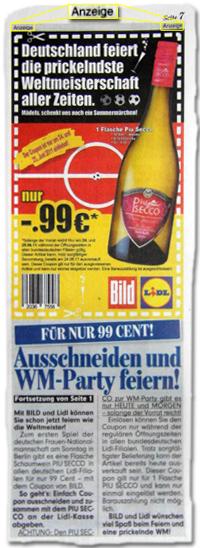 Deutschland feiert die prickelndste Weltmeisterschaft aller Zeiten.
