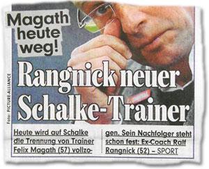Magath heute weg! Rangnick neuer Schalke-Trainer