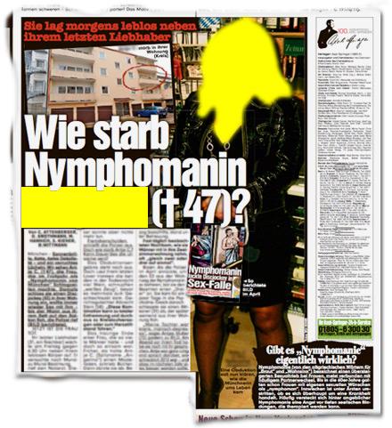 Wie starb Nymphomanin ***?
