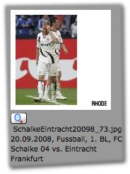 SchalkeEintracht20098_73.jpg  20.09.2008, Fussball, 1. BL, FC Schalke 04 vs. Eintracht Frankfurt