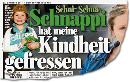 Joy Gruttmann und ihr Hit mit dem kleinen Krokodil: Schni- Schna- Schnappi hat meine Kindheit gefressen