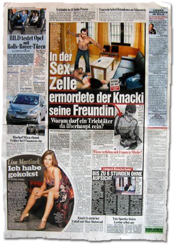 In der Sex-Zelle ermordete der Knacki seine Freundin.