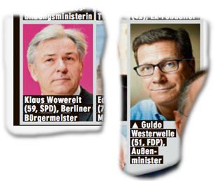 Klaus Wowereit, Guido Westerwelle