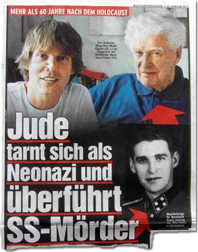 Jude tarnt sich als Neonazi und überführt SS-Mörder