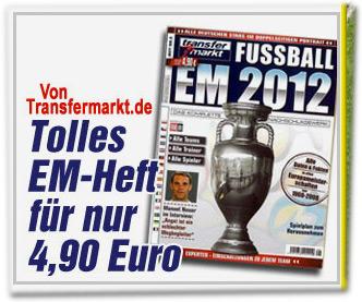 Von Transfermarkt.de: Tolles EM-Heft für nur 4,90 Euro
