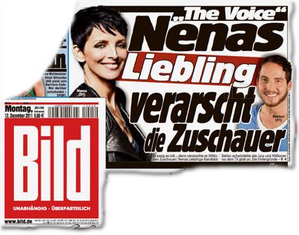 """""""The Voice"""": Nenas Liebling verarscht die Zuschauer"""