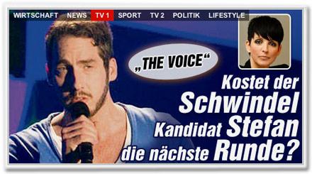 """""""The Voice"""": Kostet der Schwindel Kandidat Stefan die nächste Runde?"""