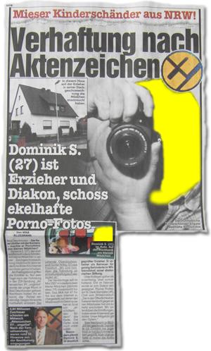 Mieser Kinderschänder aus NRW! Verhaftung nach Aktenzeichen XY