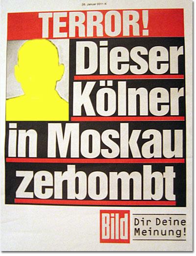 Dieser Kölner in Moskau zerbombt.
