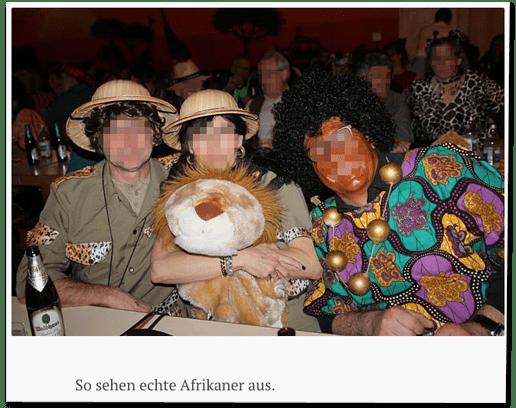 Screenshot Südkurier.de - So sehen echte Afrikaner aus
