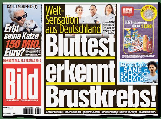 """Staatsanwalt ermittelt: """"Bild"""", Kai Diekmann und der Wunder-Krebstest"""