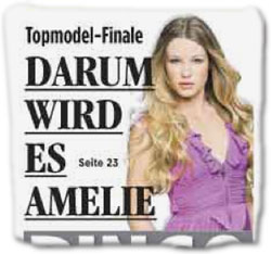 Topmodel-Finale: Darum wird es Amelie