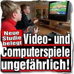 Neue Studie belegt: Video- und Computerspiele ungefährlich!