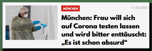 München: Frau will sich auf Corona testen lassen und wird bitter enttäuscht: Es ist schon absurd