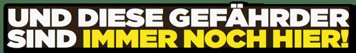 Ausriss Bild-Zeitung - Und diese Gefährder sind immer noch hier!