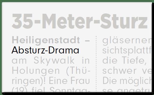 Absturz-Drama