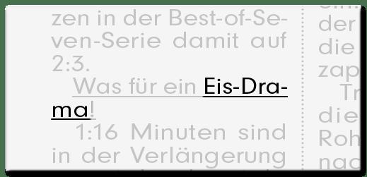 Eis-Drama