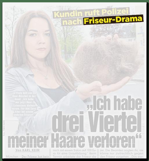Friseur-Drama