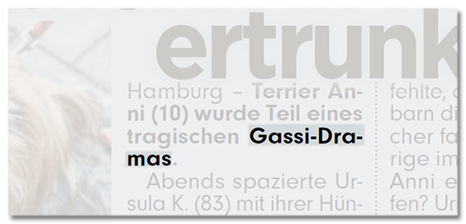 Gassi-Drama