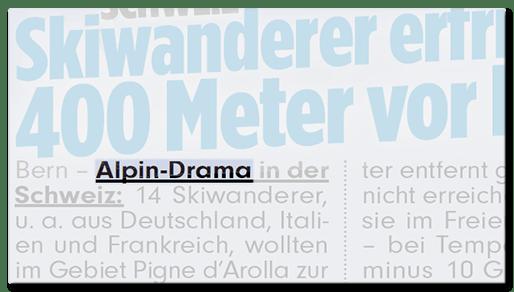 Alpin-Drama