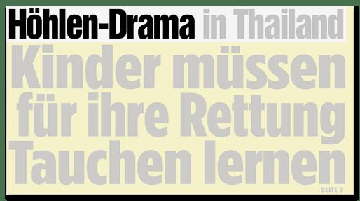 Höhlen-Drama