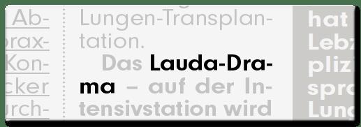 Lauda-Drama