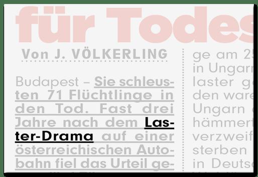 Laster-Drama