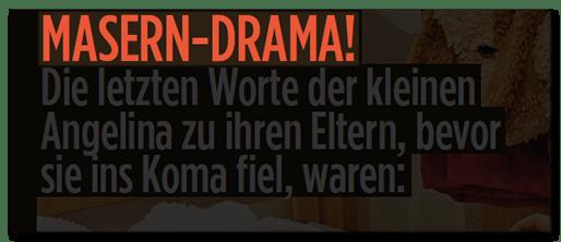 Masern-Drama