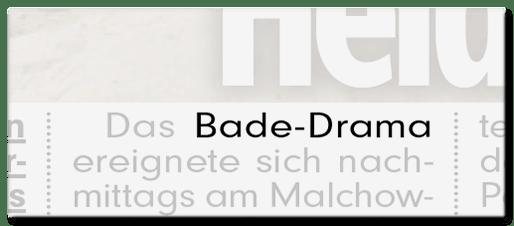 Bade-Drama