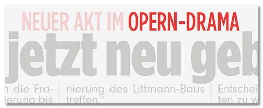 Opern-Drama