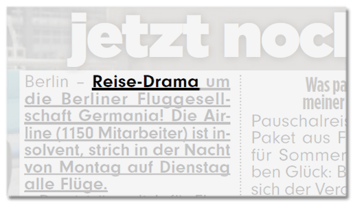 Reise-Drama